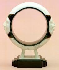 "American Legacy Fine Arts presents ""Ring"" a sculpture by Béla Bácsi."