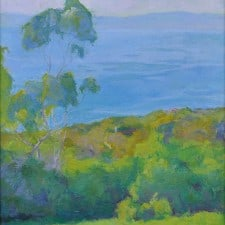 "American Legacy Fine Arts presents ""St. Francis, Afternoon Light"" a painting by Amy Sidrane."