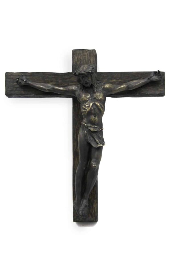 "American Legacy Fine Arts presents ""Crucifix"" a sculpture by Christopher Slatoff."