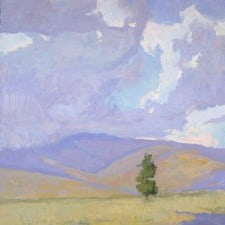 """American Legacy Fine Arts presents """"Gentle Strength"""" a painting by Daniel W. Pinkham."""