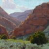"American Legacy Fine Arts presents ""Side Canyon"" a painting by Jean LeGassick."