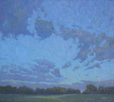 """American Legacy Fine Arts presents """"A Lofty Feast"""" a painting by Jennifer Moses."""
