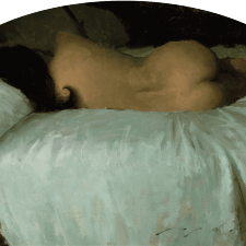 """American Legacy Fine Arts presents """"The French Maid"""" a painting by Jeremy Lipking."""