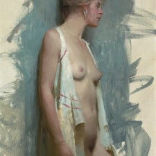 "American Legacy Fine Arts presents ""Unwrapped"" painting by Jeremy Lipking."