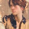 "American Legacy Fine Arts presents ""Fanny"" a painting by Jeremy Lipking."