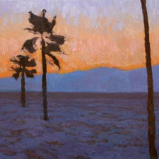 "American Legacy Fine Arts presents ""The Arc of Evening"" a painting by Eric Merrell."