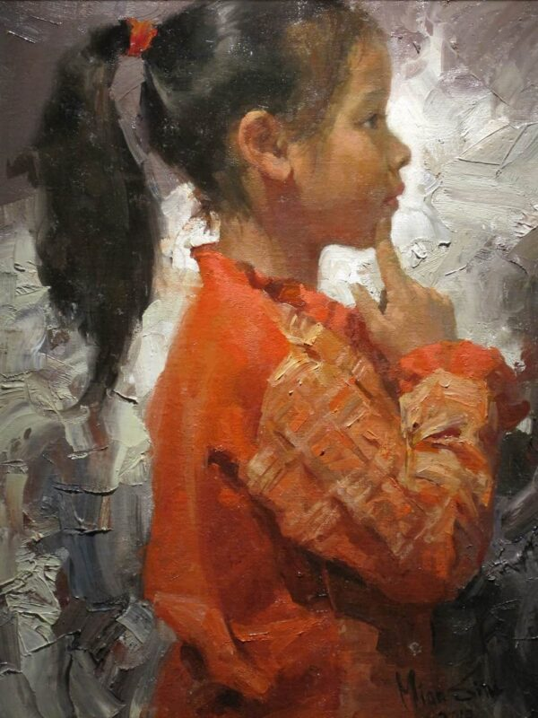"American Legacy Fine Arts presents ""The Innocence"" a painting by Mian Situ."