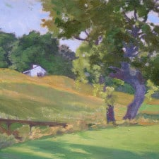 "American Legacy Fine Arts presents ""Afternoon Light"" a painting by Stephen Mirich."