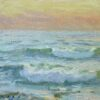 "American Legacy Fine Arts presents ""Evening Surf"" a painting by Stephen Mirich."