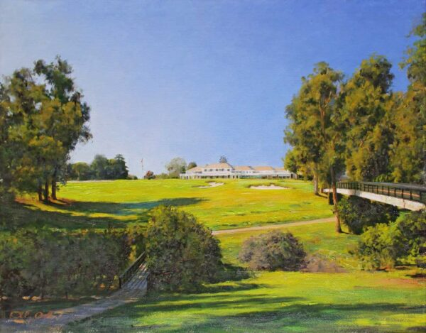"American Legacy Fine Arts presents ""No. 2"" a painting by Alexander V. Orlov."