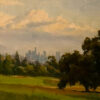 "American Legacy Fine Arts presents ""Vista De Los Angeles"" a painting by Michael Obermeyer."