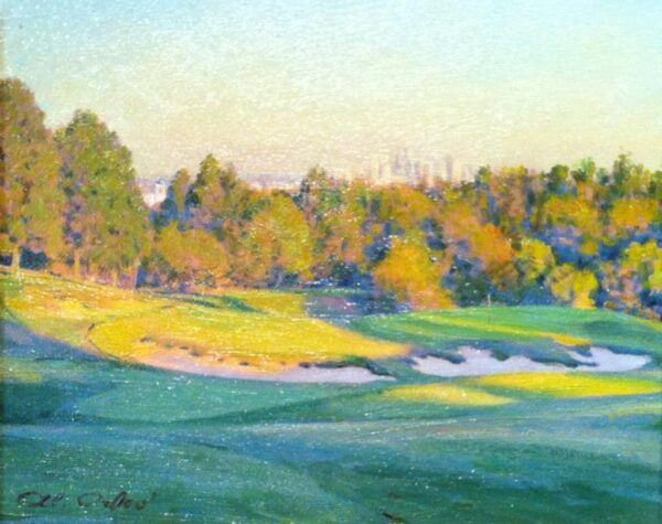 "American Legacy Fine Arts presents ""Late Afternoon"" a painting by Alexander V. Orlov."