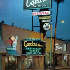 "American Legacy Fine Arts presents ""Canter's, Fairfax"" a painting by Alexander V. Orlov."