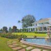 "American Legacy Fine Arts presents ""Clubhouse Splendor"" a painting by Alexander V. Orlov."