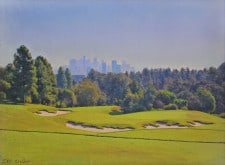 "American Legacy Fine Arts presents ""The Skyline"" a painting by Alexander V. Orlov."