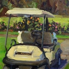 "American Legacy Fine Arts presents ""North Course Ride"" a painting by Scott W. Prior."
