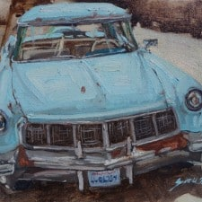 "American legacy Fine Arts presents ""One Sweet Ride"" a painting by Scott W.Prior."