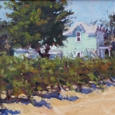"American Legacy Fine Arts presents ""Sonoma Farmhouse"" a painting by Scott W. Prior."