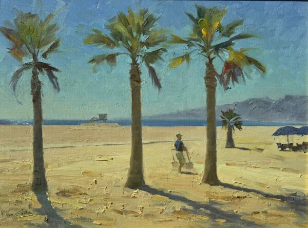 "American Legacy Fine Arts presents ""Noon, Santa Monica"" a painting by Mian Situ."