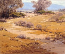 "American Legacy Fine Arts presents ""Desert Pattern"" a painting by Sam Hyde Harris (1889-1977)."