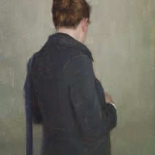 "American Legacy Fine Arts presents ""Going Out"" a painting by Aaron Westerberg."