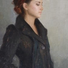 "American Legacy Fine Arts presents ""Jocelyn"" a painting by Aaron Westerberg."