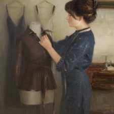 "American Legacy Fine Arts presents ""Dress Form"" a painting by Aaron Westerberg."