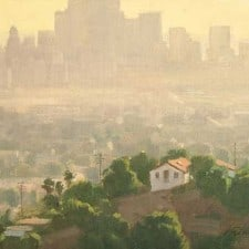 "American Legacy Fine Arts presents ""L.A. Afternoon"" a painting by Frank Serrano."