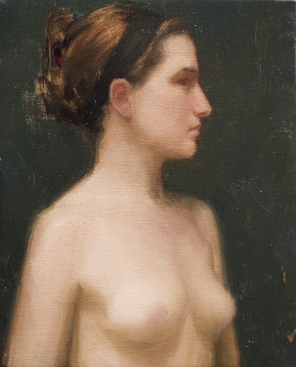 "American Legacy Fine Arts presents ""Headband"" a painting by Aaron Westerberg."
