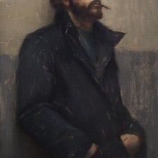 "American Legacy Fine Arts presents ""Introspect"" a painting by Aaron Westerberg."