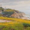 "American Legacy Fine Arts presents ""Flowers Above the Cove"" a painting by Joseph Paquet."