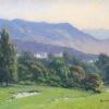 "American Legacy Fine Arts presents ""Morning Haze from Beverly Hills"" a painting by John Budicin."