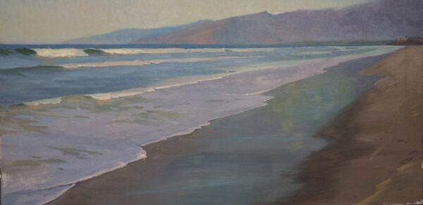 "American Legacy Fine Arts presents ""Serene Hour"" a painting by Alexey Steele."