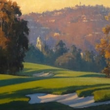"American Legacy Fine Arts presents ""Rolling Shadows"" a painting by Michael Obermeyer."