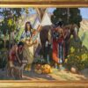 "American Legacy Fine Arts presents ""Family Repose"" a painting by Tim Solliday."
