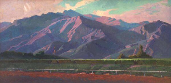 alexey-steele_san-gabriel-mountains-from-santa-anita-park_ol_15x30