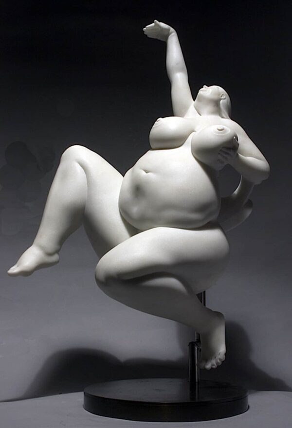 "American Legacy Fine Arts presents "" Poised"" a sculpture by Béla Bácsi."