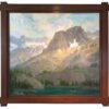 "American legacy Fine Arts presents ""Sierra Grandeur"" a painting by Peter Adams."