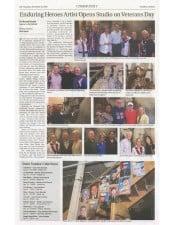American legacy Fine Arts presents Christopher Slatoff in Pasadena Outlook Newspaper.