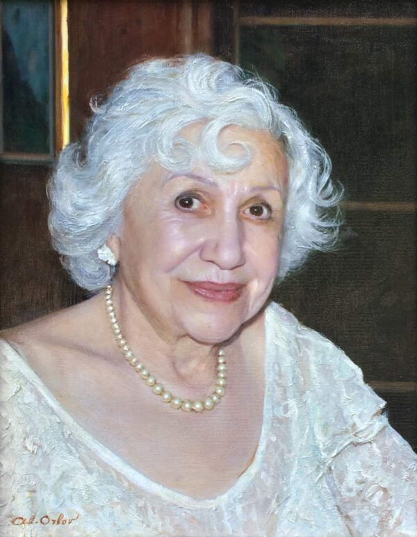 "American Legacy Fine Arts presents ""Emma Shelby"" a painting by Alexander V. Orlov."