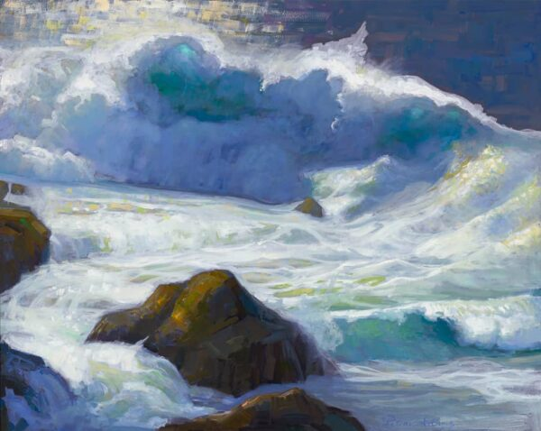 "American Legacy Fine Arts presents ""Rocky Point Break; Carmel, California"
