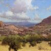 "American Legacy Fine Arts presents ""Prescott Afternoon"" a painting by Bill Anton"