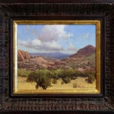 "American Legacy Fine Arts presents ""Prescott Afternoon"" a painting by Bill Anton."