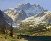 "American Legacy Fine Arts presents ""Sierra Acsent"" a painting by Bill Anton."
