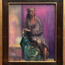 "American Legacy Fine Arts presents ""Cleopatra"" A painting by Peter Adams."