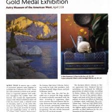 American Legacy Fine Arts presents Jean LeGassick and Kate Sammons in Southwest Art Magazine April 20163.