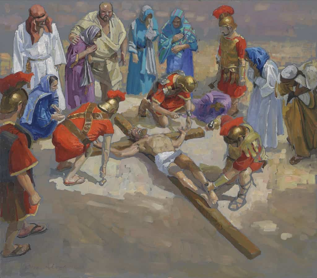 14 Stations of the Cross (11) Jesus is Nailed to the Cross ...