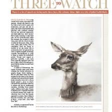 American legacy Fine Arts presents Scott W. Prior in Fine Art Connoisseur Magazine Spring 2016 Issue.