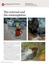 Amercian Legacy Fine Arts presents ALFA artists Peter Adams, Tony Peters, Tim Solliday and Alexey Steele in American Art Collector Magazine October 2015 Issue.