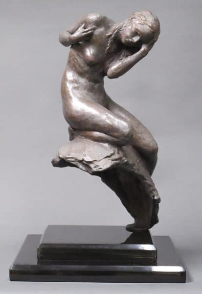 "American Legacy Fine Arts presents ""Cassandra"" a sculpture by Alicia Ponzio."